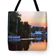 Peaceful Sunset Tote Bag