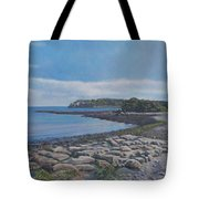Peaceful View From Peaks Island Me Tote Bag