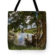 Peaceful View Tote Bag by Robert Bales