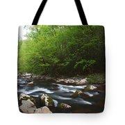 Peaceful Stream Tote Bag