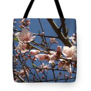 Peach Blossoms Tote Bag