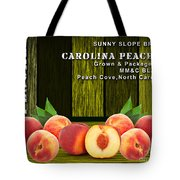 Peach Farm Tote Bag