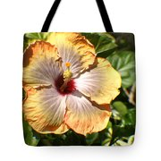 Peach Flower Tote Bag