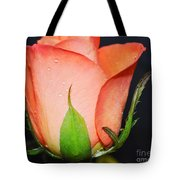 Peach Relish Tote Bag