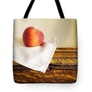 Peach Still Life Tote Bag