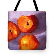 Peach Trio Tote Bag
