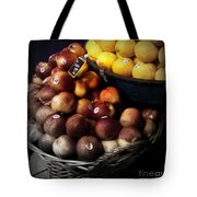 Peaches And Lemons Antique Tote Bag