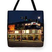 Peaches Corner Tote Bag