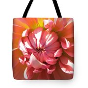 Peachy Kiss Tote Bag