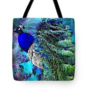 Peacock Bird Of Beauty Tote Bag