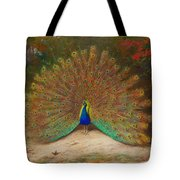 Peacock Butterfly Tote Bag
