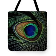 Peacock Eye Tote Bag