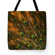 Peacock Feathers 2 Tote Bag