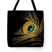 Peacock Feathers 7 Tote Bag