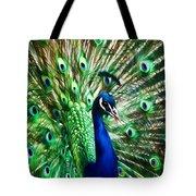 Peacock - Impressions Tote Bag