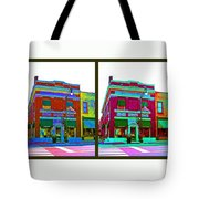 Peacock On Third Tote Bag