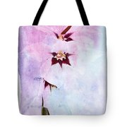 Peacock Orchids Tote Bag
