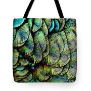 Peacock Pattern Tote Bag