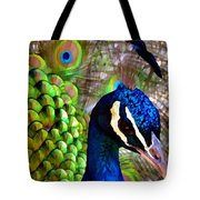 Peacock Pride Revisited Tote Bag