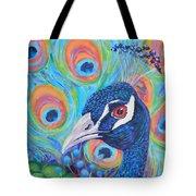 Peacock Pride Tote Bag
