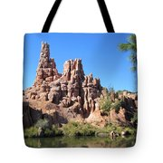Peak And Valley Tote Bag