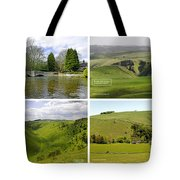 Peak District Collage 01-labelled Tote Bag