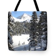Peak Peek Tote Bag