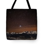 Peaked Interest Tote Bag