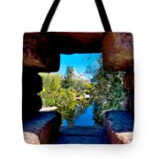 Peakin In On Everest Tote Bag