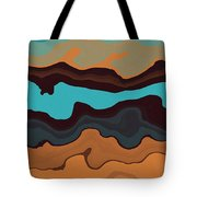 Peaks And Valleys 3 Tote Bag