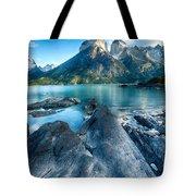 Peaks In Patagonia Tote Bag