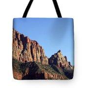 Peaks In Zion Tote Bag