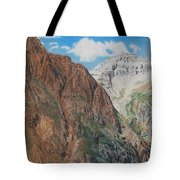 Peaks Of Ouray Tote Bag