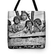 Peanut Gallery Monochrome Tote Bag