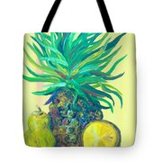 Pear And Pineapple Tote Bag