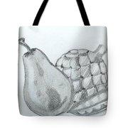 Pear Artichoke Snap Pea Tote Bag