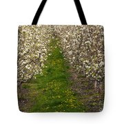 Pear Blossom Lane Tote Bag