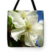 Pear Blossom Tote Bag
