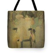 Pear Soap Girl Tote Bag