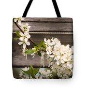 Pear Tree Blossoms Tote Bag