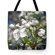 Pear Tree In Bloom Tote Bag