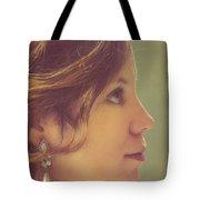 Pearl Earring Tote Bag