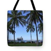 Pearl Harbor Hawaii Tote Bag