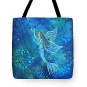 Pearl Out Of The Depths Tote Bag
