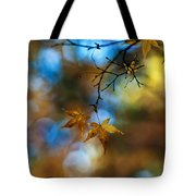 Pearlescent Acers Tote Bag