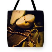 Pearls And Pears Tote Bag