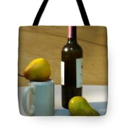 Pears And Wine Tote Bag