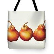 Pears Tote Bag by Annabel Barrett