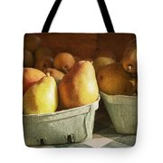 Pears Tote Bag by Caitlyn  Grasso