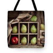 Pears On Display Still Life Tote Bag